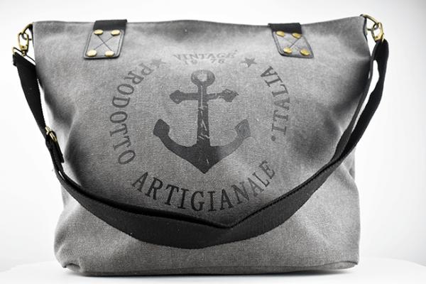 tasche mit anker im vintage look handtaschen klein accessoires lieblingswerke. Black Bedroom Furniture Sets. Home Design Ideas