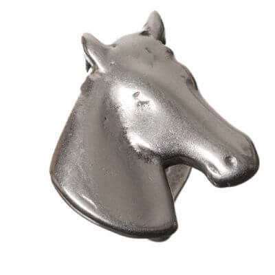 Silberelement Pferdekopf