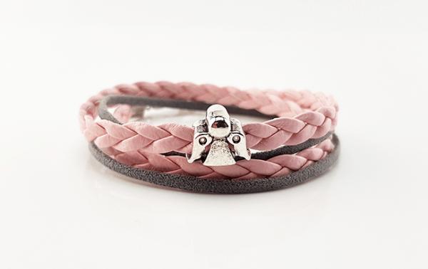 Schutzengelarmband - Armband mit einer Schutzengel-Schiebeperle