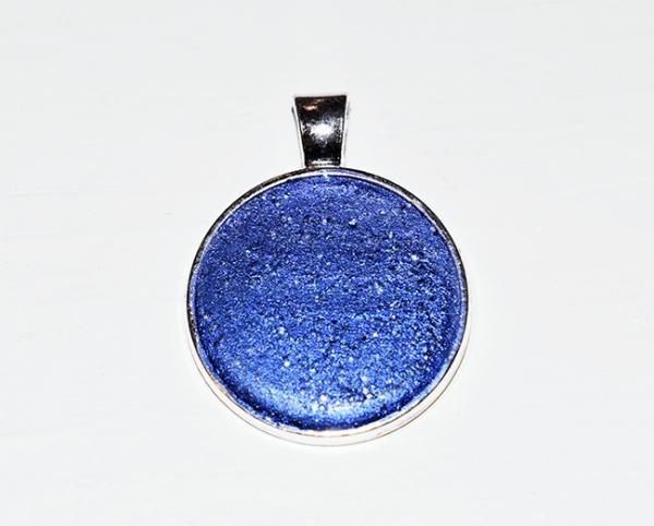 Kettenanhänger royal blau