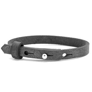 Schiebeperlenarmband 1-fach, grau