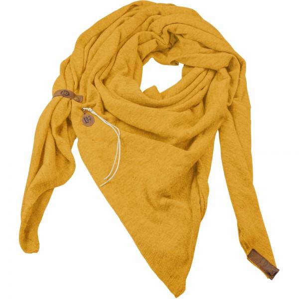 Dreieckstuch fein gelb