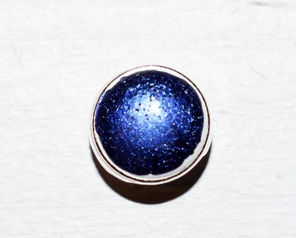 Minibetonschiebeperle royal blau